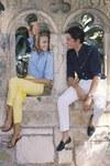 Jane Fonda et Alain Delon