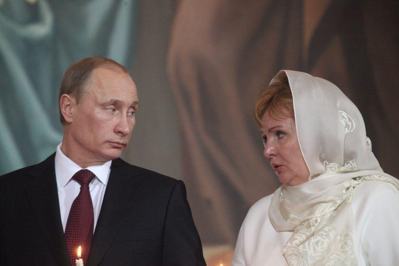 Vladimir Poutine et Lyudmila, dans une image de 2011.